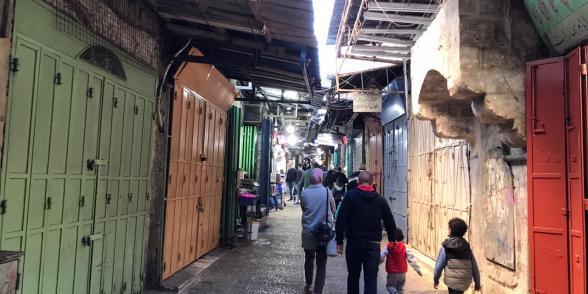 بلدة القدس القديمة، تصوير عبد الرؤوف ارناؤوط.
