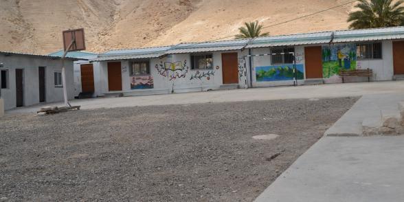 مدرسة بدو الكعابنة، تصوير أحمد حنيطي.