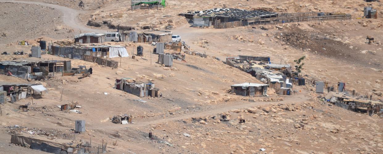 تجمع أبو نوّار - شرق العيزرية، تصوير أحمد حنيطي