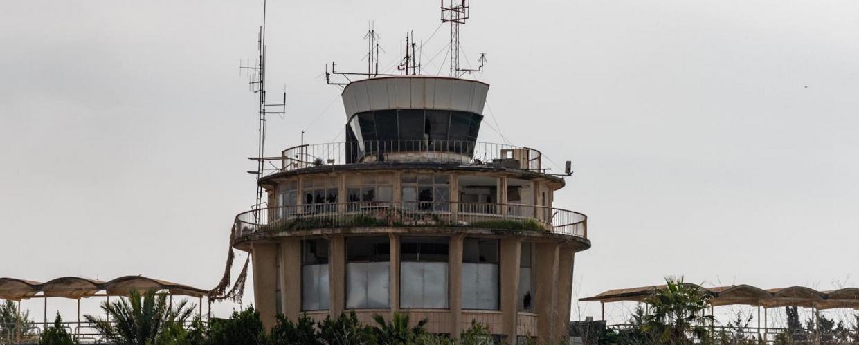 مبنى مطار قلنديا، جاك برسكيان، ٢٠٢١