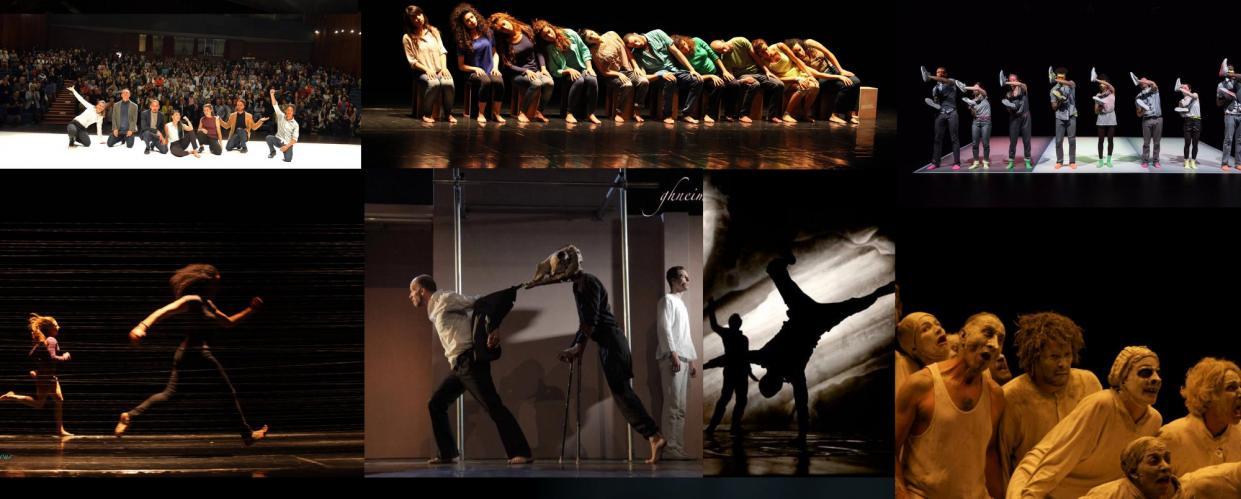 من عروض مهرجان الرقص المعاصر في رام الله
