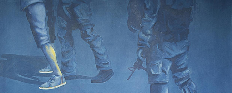 نحو شرعية جديدة ١، للفنان محمد الجولاني