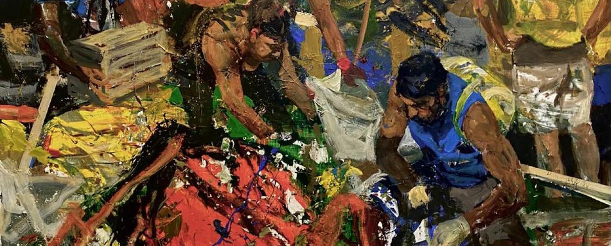 لوحة للفنان سيروان باران