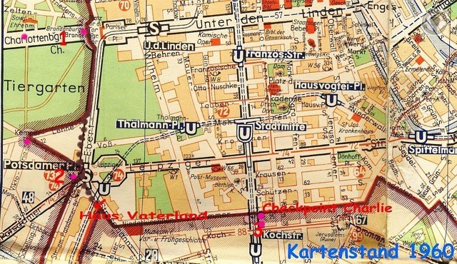 West Berlin Karte.Mapping Divided Cities And Their Separation Walls Berlin And