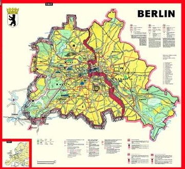 Berlin Wall Subway Map.Mapping Divided Cities And Their Separation Walls Berlin And